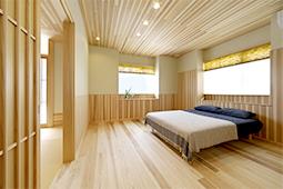 寝室(1階)
